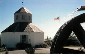 Old Fredricksburg Coffe Mill Church Vereinskirche Texas TX Postcard
