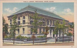 Rhode Island Providence Public Library 1943