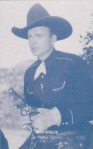 Cowboy Actor Bob Baker Vintage Arcade Card