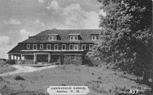 Antrim New Hampshire~Greystone Lodge~1920s B&W Postcard