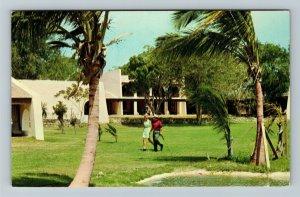 St Croix US Virgin Islands, Estate Carlton Hotel c1968 Chrome Postcard