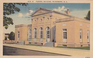North Carolina Wilkesboro Federal Building 1942