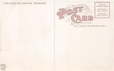 Buffet, Wilson Hotel, Salt Lake City, Utah Interior View c1910s Vintage Postcard