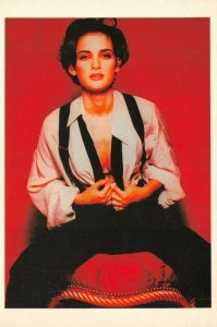 Postcard, American Actress, Winona Ryder GN7