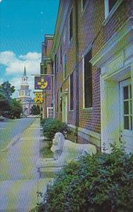 Dormitories and Homes Wake Forest College Winston-Salem North Carolina
