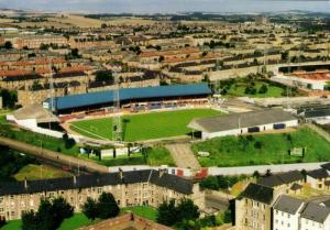 scotland, DUNDEE, Dens Park (1980s) Stadium Postcard