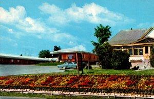 Canada New Brunswick Woodstock Stiles Motel Hill View