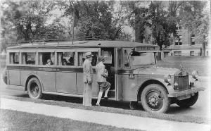 St Paul MN Twin City Motor Bus Company RPPC Postcard