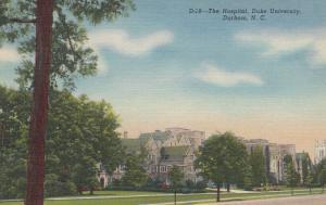 DURHAM , North Carolina, 1930-40s ; The Hospital, DUKE University