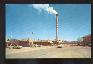 HURLEY NEW MEXICO NM DOWNTOWN MAIN STREET SCENE 1960's CARS OLD POSTCARD