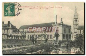 Old Postcard La Grande Trappe Abbey Orne Old Forge Chocolaterie and printing ...