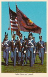 MIlitary Cadet Colors and Guards U S Military Academy West Point New York