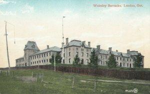 LONDON , Ontario , Canada , 1900-10s ; Wolesley Barracks