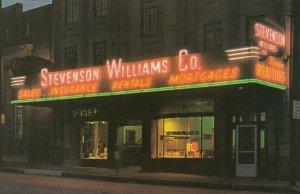PITTSBURGH , Pennsylvania , 1950-60s ; Stevenson Williams Co. Realtors ; #2