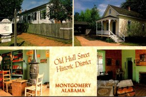 Alabama Montgomery Old Hull Street Historical District