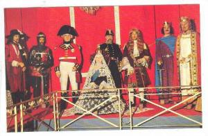 Wax Museum, Hall Of Kings, Kings and Queens Of The Past and Present, Quebec C...