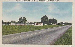 South Carolina Hardeeville Sea Island Motel