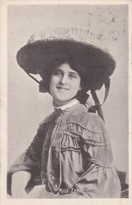 Portrait of Miss Zena Dare, English singer and actress, PU-1907