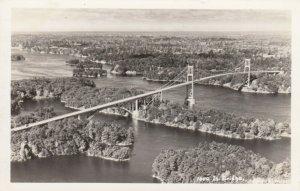 RP: 1000 Islands Bridge , Ontario, Canada, 1930-40s