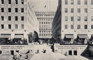 NEW YORY CITY , 1930-40s ; British and French Empire Buildings
