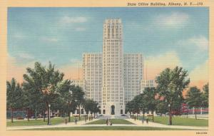 Albany NY, New York - The State Office Building - Linen