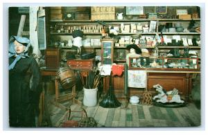 Postcard General Store in Pike's Peak Ghost Town, 19th Century Gold Rush, CO C44