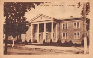 Lewes Delaware Beebe Hospital Vintage Postcard AA39386