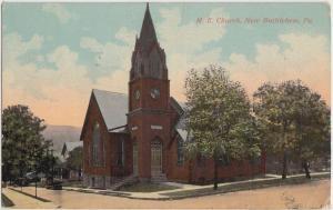 1916 NEW BETHLEHEM Pennsylvania Pa Postcard ME CHURCH Building