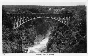 Zimbabwe Victoria Falls Bridge, Bruecke, Pont, Zambezi, Rhodesia