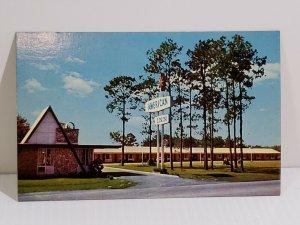 American Inn Lake City Florida Interstate 75 & US 90 Vintage Postcard   473
