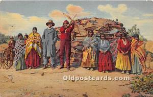 Navajo Indians at Home Indian 1956 Missing Stamp