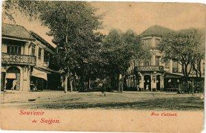 VIETNAM INDOCHINE - Souvenir de Saigon - Rue Catinat (190321)