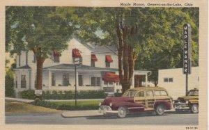 GENEVA-ON-THE-LAKE, Ohio, 1930-40s; Maple Manor