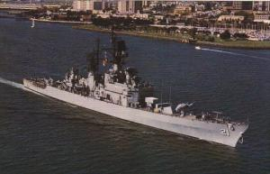 U S S Gridley CG-21 Guided Missile Cruiser