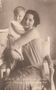 S.A.R. La Duchesse de Brabant et la Princesse Josiphine Charlotte, 1937; Belgium