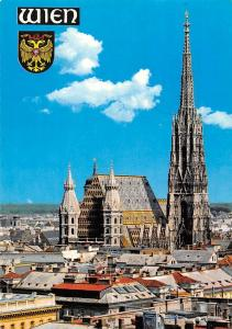 Wien Stephansdom Vienna St Stephen's Cathedral Panorama