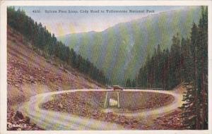 Wyoming Yellowstone National Park Sylvan Pass Loop Cody Road To Yellowstone N...