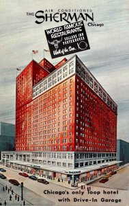 Illinois Chicago The Sherman Hotel