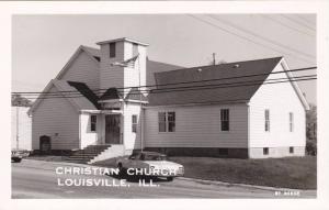 RP, Christian Church, Louisville, Illinois, 1930-1950s