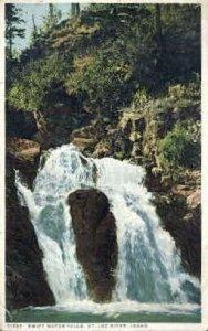 Swift Water Falls - St Joe River, Idaho ID