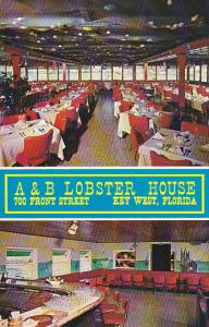 A and B Lobster House Restaurant Key West Florida