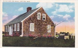 An Old Cape Cod House Cape Cod Massachusetts