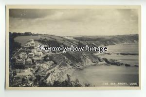 tp9885 - Cornwall - View across the Sea Front and Town, in Looe - postcard