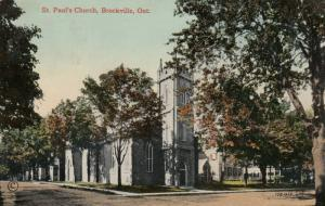 BROCKVILLE , Ontario , Canada , 1914 ; St Paul's Church
