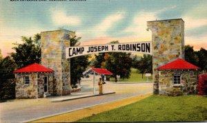 Arkansas Camp Joseph T Robinson Main Entrance