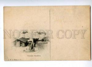 144626 CEYLON COLOMBO Harbor Vintage postcard