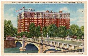 Indianapolis, Ind, The Marott Apartment Hotel