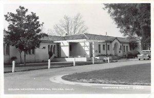Colusa Memorial Hospital, Colusa, California, early real photo postcard, unused