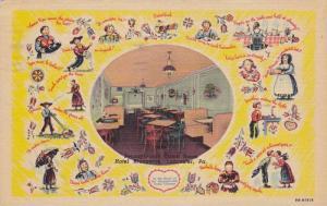 Pennsylvania Dutch Room,  Hotel Brunswick,  Lancaster,  Pennsylvania,  PU_1952