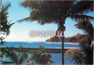 Modern Postcard Reunion Island (France) Indian Ocean Port of Saint Gilles